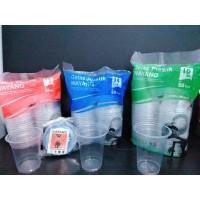 Gelas Plastik Wayang 12-16 0Z