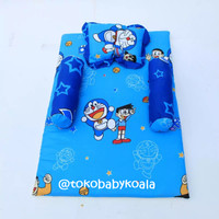 Matras Bayi Doraemon || Set Bantal & Guling
