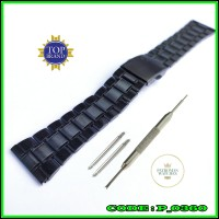 Tali strap Watch Jam Rantai Rante Thick Stainless steel universal