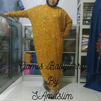 GAMIS JUMBO CASUAL BABYTERRY - Mustard
