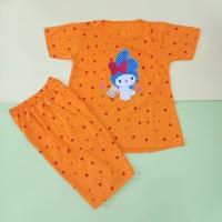 Baju Stelan Anak Perempuan Jumbo 7-13 Thn Motif My Melody Bordir
