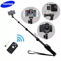 Tongsis Yunteng YT-1288 Selfie Stick Monopod with Bluetooth Remote