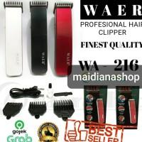 Alat Cukur Rambut Kumis Dll Waer Wa - 216 Hair And Beard Trimmer