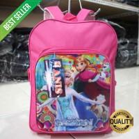 Tas Ransel Frozen Mini Pink Tas Anak Cewek Piknik Motif Lucu Trendy