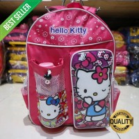 Tas Ransel Anak Sekolah Motif Hello Kitty Warna Pink Lucu Perempuan Ce