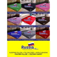 Karpet Rasfur Russia Ukuran 165 x 103 cm Tebal 5,5 cm