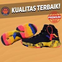 Sepatu Basket Sneakers Adidas Pro Bounce 2018 Swaggy P PE Black Yellow