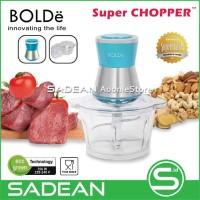 BOLDe Super Food CHOPPER Alat Gilingan Daging Elektrik Multi Fungsi