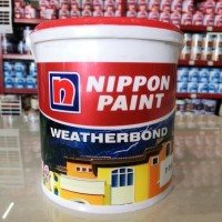 Cat tembok exterior Nippon Weatherbond 1PAIL Warna Aquamarine