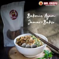 BAKMIE AYAM JAMUR + BAKSO / MIE AYAM JAMUR / BAKMIE SIAP SAJI