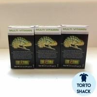 Exoterra Multivitamin 70 Gram Powder| Vitamin untuk Reptil|Reptil Obat