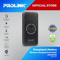 Prolink Power Bank PPB1005 - Energiepak Mastery 10000mAh - Hitam