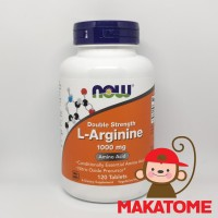 NOW Foods L-Arginine Double Strength 1000 mg 120 Tablets Food 1.000