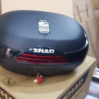 Box SHAD SH46 Black Original SH 46 Hitam ORIGINAL