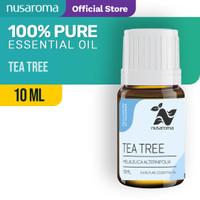 Tea Tree Essential Oil | Minyak Tea Tree 10 ml (100 % Pure & Natural)