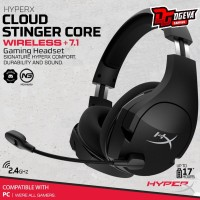 Hyperx Cloud Stinger Core Wireless 7.1 Surround Sound Headset Gaming