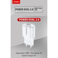 Charger Vivan power oval 3.0 18w Output 3A