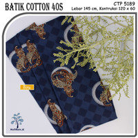 MUKA IG bahan kain cotton katun batik kemeja murah per 50 yard cat 6