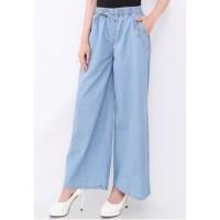 celana kulot jeans dewasa / celana panjang