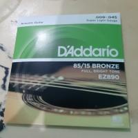 Senar gitar.d,addario akustik ez890-900-910-920
