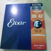 Senar gitar d,addario electric elixir 09-10 nanoweb