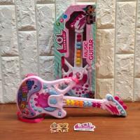 Mainan Anak Gitar Musik LOL Suprise - Gitar Anak Perempuan