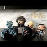 Funko Game of Thrones Night King Cersei Tyrion Jon Snow Iron Throne