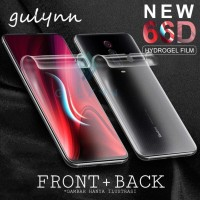 OPPO F9 F 9 HYDROGEL ANTI GORES TPU FILM DEPAN BELAKANG PROTECTOR