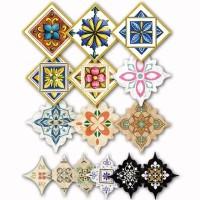 Stiker Keramik Lantai Dinding Diagonal Ceramic Sticker Wall Sticker
