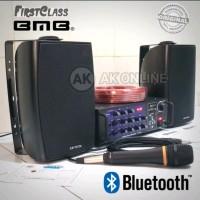 PAKET SOUND KARAOKE AMPLI DAN BMB KG 511 dan mic kabel original garnsi