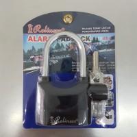 Gembok alarm lock padlock Rolinson