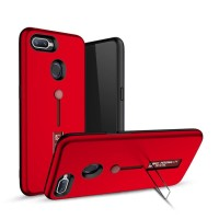 OPPO F9 - F9 Pro Silicone Ring Stand Luxury Soft Capa Armor Case