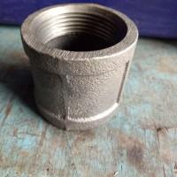 "Socket besi hitam drat 1""(inch) Sock drat dalam steam TSP"