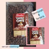 choco chips simba / koko krunch simba / choco crunch snack cokelat 1kg