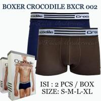 Celana Dalam Boxer Pria Crocodile CR 002 Isi 2