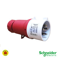 Schneider PKE32M435 3P 32A IP44 3P+N+E 5Pin Industri Straight Plug