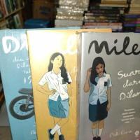 Novel Remaja,, Dilan 1,Dilan 2 dan Nilea satu paket