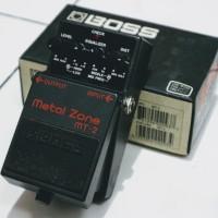 Boss Metal Zone MT-2/MT2/MT 2 Efek Gitar/Effect Guitar
