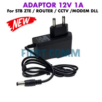 ADAPTOR STB ZTE CCTV MODEM ROUTER 12V 1A POWER SUPPLY