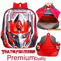 Tas sekolah anak laki laki Transformers Timbul - Tas anak karakter
