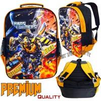 Tas Sekolah Anak Laki Transformers Bumblebee - Tas Anak Karakter