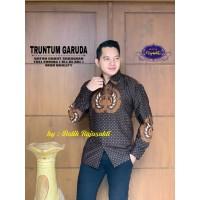 Kemeja Batik Pria Dewasa TRUNTUM GARUDA Lengan Panjang By RAJA SAKTI