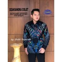 Kemeja Batik Pria Dewasa DZAKIANDRA COLET Lengan Panjang By RAJA SAKTI