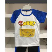 Setelan Import Anak / Baju Main Anak / Motif Spiderman