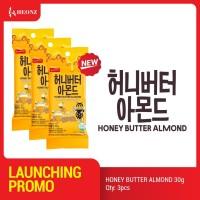 3 Pcs HEONZ Honey Butter Almond 30g