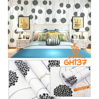 Home Wallpaper Sticker Dinding Dandelion - 45cm x 10 m