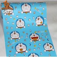 Home Wallpaper Sticker Dinding Doraemon Biru - 45cm x 10 m