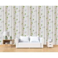 Home Wallpaper Sticker Dinding Pol Hijau - 45cm x 10 m