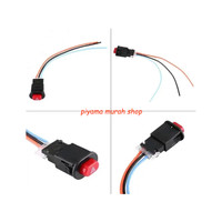 Switch On Off Push Button Tombol Saklar Lampu Led Sen Hazard Motor Dou