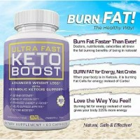 Ultra Fast Keto Boost 100% Original Diet Jaman Now Tampa Efek Samping